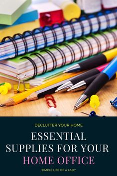 home office supplies that will help you work from home efficiently