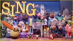Sing Movie Coloring COMPILATION  - Kids Coloring Book   Coloring Pages f...