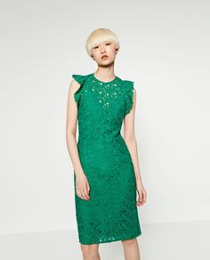 GUIPURE LACE TUBE DRESS-View All-DRESSES-WOMAN   ZARA United States