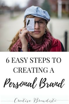 Follow these 6 easy strategies to create your own personal brand and grow your online business