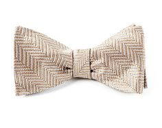 NATIVE HERRINGBONE - LIGHT CHAMPAGNE   Ties, Bow Ties, and Pocket Squares   The Tie Bar