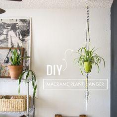 DIY Macrame Plant Hanger - Whimseybox