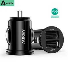 Aukey I7 Car Phone Charger For iPhone 7 Plus 6S 5S AIPower USB Car Charger Adapter For Huawei P9 Mate 8 Xiaomi Samsung LG G4 ZUK