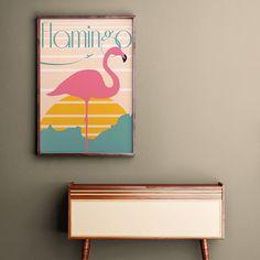 Vamos começar o ano com lançamento aqui #nacasadajoana!  O pôster 'Flamingo' tem um visual retrô e vai levar mais cores para a sua casa.  - Vista a sua casa para 2017. #PosterFlamingoNCDJ - http://ift.tt/1dqyBxz (link na bio). #nacasadajoana #abaixoasparedesvazias #pôster #posters #quadros #enquadrados #design #decoração #decor #interiordesign #pinterest #meunacasadajoana #casa #lar #flamingo #maiscorporfavor