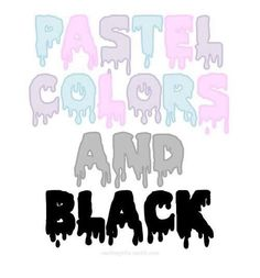 Pastel Colors and Black Pastel Goth Soft Grunge Button Pin Badge Art Pastel, Pastel Punk, Pastel Goth Fashion, Pastel Colors, Soft Grunge, Pastel Grunge, Pastel Goth Quotes, Grunge Goth, Grunge Style