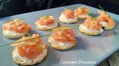 Tartine al salmone light