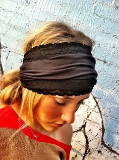 i need to go headband shopping Thick Headbands, Lace Headbands, Beauty Barn, Style Ideas, Style Inspiration, Cool Style, My Style, Hat Hairstyles, Diy Accessories