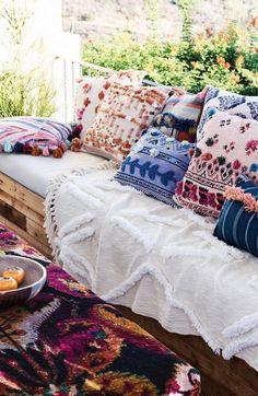 Gorgeous new season pillows at Anthropologie