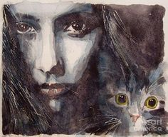 Женщины и кошки… Paul Lovering