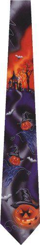 Jerry Garcia Halloween New Novelty Tie Necktie  http://www.yourneckties.com/jerry-garcia-halloween-new-novelty-tie-necktie/