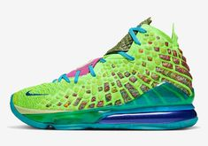 """Nike Basketball is elevating the """"What The"""" concept with a couple signature shoes for the LeBron 11 and KD VI. Retro Jordans 11, Jordans Girls, Nike Air Jordans, Nike Air Max, Lebron 17, Nike Lebron, Lebron James, Nike Elite Socks, Nike Socks"""
