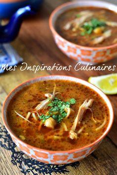 Chorba au poulet algérienne Algerian Recipes, Algerian Food, Samar, Whole Food Recipes, Food And Drink, Ethnic Recipes, Soups, Flow, Eat