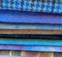 Wool Fabric, Rug Hooking, Hand Stitching, Fiber Art, Applique, Teal, Rugs, Studio, Farmhouse Rugs