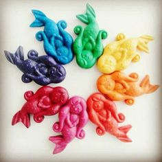 Mermaids 💖 🌊💖🌊💖🌊 beautifully photographed by one of our fabulous stockists . Wax Crayons, Montessori Materials, Colouring, Mermaids, Cupboard, Party Favors, Drawings, Natural, Instagram Posts