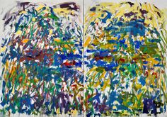 Joan Mitchell - Riviere, 1990, oil on canvas