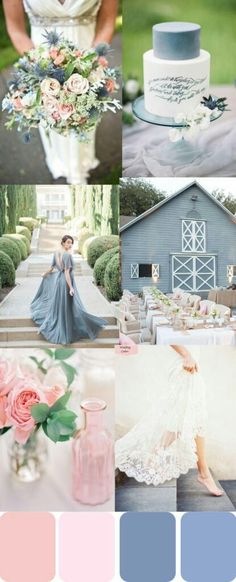 A Perfect palette of pinks and blues!