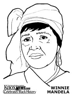 black history month coloring pages nelson mandela colouring pages