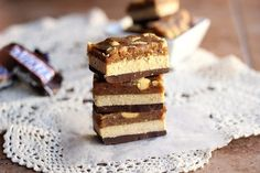 Healthy Vegan Snickers Bars