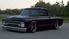 very nice, lowered 1967-69 Chevy c10