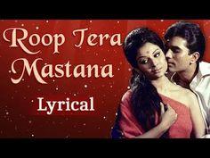 Roop Tera Mastana , Pyar Mera Dewana 1969 Movie, Bollywood, Kishore Kumar, Movie Songs, Touching You, Koi, Lyrics, Presentation, Banner