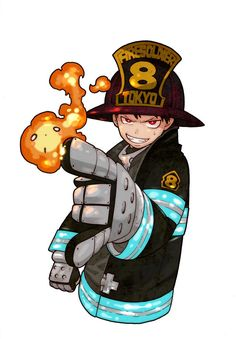 27 Best Fire Brigade Of Flames Images Fire Manga Anime
