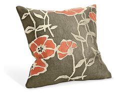Poppy Orange Pillow - Pillows - Accessories - Room & Board