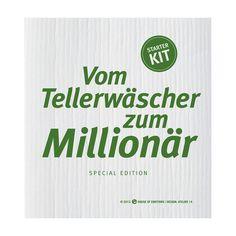 Spüllappen Vom Tellerwäscher... online kaufen ➜ Bestellen Sie Spüllappen Vom Tellerwäscher... für nur 3,95€ im design3000.de Online Shop - versandkostenfreie Lieferung ab €!