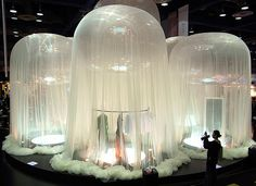 awesome jellyfish installation