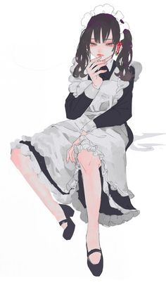 Home / Twitter Drawing Reference Poses, Drawing Poses, Pretty Art, Cute Art, Character Art, Character Design, Anime Maid, Art Poses, Image Manga
