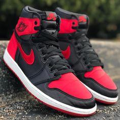 "Air Jordan 1 Retro High OG SE ""Satin"" Air Jordan Sneakers, Jordans Sneakers, Air Jordans, Sneaker Games, Jordan 1 Retro High, Nike Air Force, Me Too Shoes, Satin, Fashion"