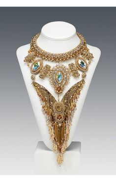 Jewelry Design - Bib-Style Necklace with Seed Beads - Fire Mountain Gems and Beads