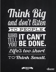 This is a perfect quote for our Big Idea Mastermind Class - http://bigideamastermindclass.com/ #marketing