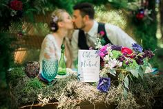 Hippie Chic in the Woods Wedding Inspiration - Tidewater and Tulle | A Virginia Wedding Blog