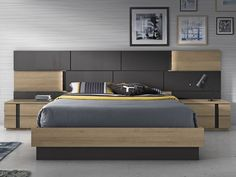 Glicerio Chaves Hornero is a Spanish Furniture Manufacturer specialized in modern bedroom sets for. Wardrobe Design Bedroom, Bedroom Bed Design, Modern Master Bedroom, Bedroom Furniture Design, Stylish Bedroom, Modern Bedroom Design, Bed Furniture, Bedroom Sets, Bedding Sets