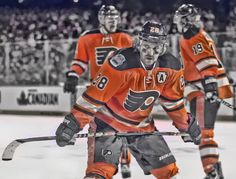 Captain Claude: The Flyers name Claude Giroux the 19th Captain in Flyers history. (Photo Edit by Brandon Legaspi)