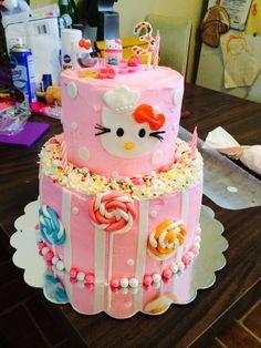 Hello kitty cake!!
