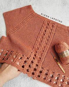 Crochet Baby Jacket, Crochet Cardigan, Crochet Flower Patterns, Crochet Designs, Pull Crochet, Knit Crochet, Crochet Woman, Crochet Fashion, Beautiful Crochet