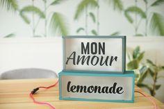 DIY LIGHT BOX | Make my lemonade