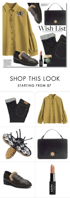 """Win It! #PolyPresents: Wish List"" by fshionme ❤ liked on Polyvore featuring Paul by Paul Smith, NYX, Bobbi Brown Cosmetics, contestentry and polyPresents"
