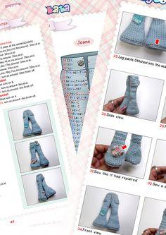 Sarah Crochet Doll Pattern Design by nong от baannongtookata
