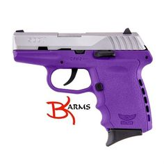 "FREE SHIPPING to CONUS! SCCY CPX-2 DAO 9mm 3.1"" 10+1 Integral Grip Purple/SS Slide No Manual Safety. At just 1"" wide, SCCY's CPX-2 Gen 2 is a great conceal carry pistol in 9mm. It features a 3.1"" barrel machined from bar stock with 7 lands and grooves having a 16:1 right hand twist. The receiver is made of stainless steel. The grip/frame is made from Purple Zytel polymer with ergonomic finger grooves and an integral ""Re-Coil Cushion"" on the backstrap. It..."
