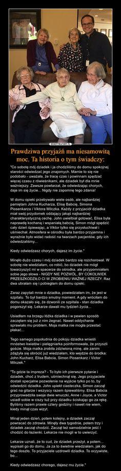 Prawdziwa przyjaźń ma niesamowitą moc. Ta historia o tym świadczy: – Demotywatory.pl Space Australia, Polish Language, Supernatural Funny, Love Life, Life Lessons, Nostalgia, Sad, Entertaining, Messages