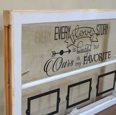 Items similar to Antique window picture frame with custom quote for wedding gift, anniversary gift on Etsy Window Picture, Picture Frames, Old Window Projects, Antique Windows, Custom Windows, Wedding Quotes, Anniversary Gifts, Wedding Gifts, Cricut