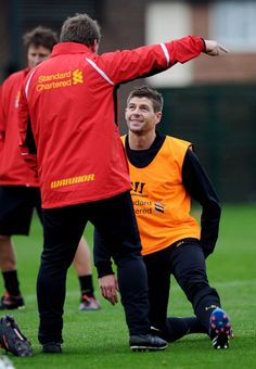 Pre-Chelsea training photos - Liverpool FC