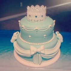 Princess (Cinderella) cake just delivered. :)