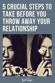 When relationships hit a snag, many people are quick to throw in the towel. But before you officially call it quits, follow these 5 important steps. Healthy Relationship Tips, Relationship Struggles, Ending A Relationship, Toxic Relationships, Healthy Relationships, Dating Red Flags, Quitting Quotes, Horoscope Dates, Love Dare