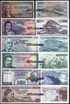 iceland currency | ... - Iceland paper money catalog and Icelandese currency history