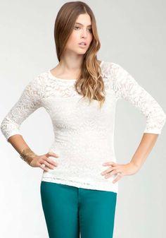 Blusas de encaje de moda casual elegante 2013   http://modayaccesorios.info/blusas-de-encaje-de-moda-casual-elegante-2013/