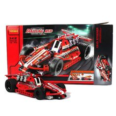 36% OFF Decool Dazzling Red Racing Car 3412. DEAL ENDS SEPTEMBER 30! Race Cars, September, Racing, Red, Drag Race Cars, Running, Auto Racing, Rally Car
