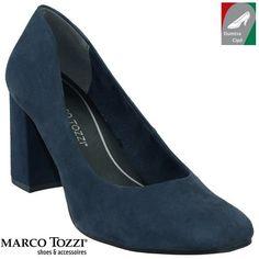 Marco Tozzi női cipő 2-22454-38 805 sötétkék Peeps, Peep Toe, Shoes, Fashion, Zapatos, Moda, Shoes Outlet, La Mode, Shoe